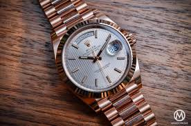 introducing the rolex day date 40 with the new calibre 3255 live