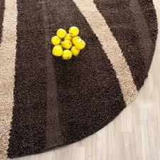 Brown Throw Rugs Safavieh Power Loomed Dark Brown Shag Area Rugs Sg451 2813 Ebay