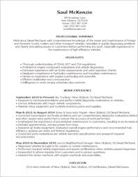 Automotive Resume Examples by Automotive Resume Templates To Impress Any Employer Livecareer