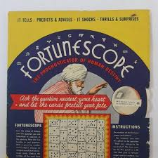 a halloween party fortune telling wheel game fortunescope by