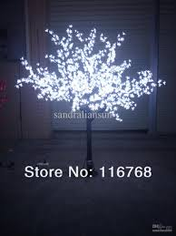 2018 2m white led lighted blossom trees artificial cherry