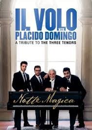 il volo notte magica a tribute to the three tenors dvd raru