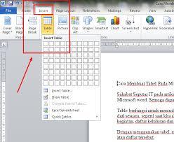 cara membuat tulisan watermark di excel cara membuat tabel pada microsoft word 2010 tutorial pinterest