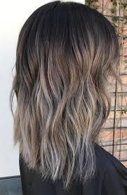 silver brown hair ash silver melt mane interest