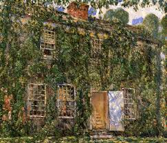 Home Cottage by Home Sweet Home Cottage East Hampton 1916 Childe Hassam