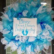 baby shower wreath it 39 s a boy welcoming wreath baby from occasionsboutique
