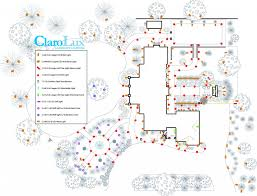 Landscape Lighting Plan Clarolux Offers Landscape Lighting Design Plans