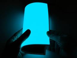 electroluminescent el panel 20cm x 15cm aqua id 414 34 95