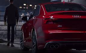 new audi s5 coupe campaign pits man against beast