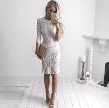 white lace dress tengo brand women white lace dress summer see through