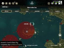 Assassins Creed Black Flag Treasure Maps Pocket Fun 5 Companion Apps For The Next Gen Consoles