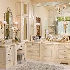 bathroom minimalist cream bathroom decoration ideas using