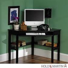 Small Black Corner Desk Beautiful Black Corner Computer Desk Ideas Liltigertoo