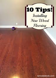 Hardwood Floor Installation Tips Remodelaholic Hardwood Flooring Installation
