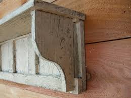 buy a custom antique style wall shelf distressed wall shelf