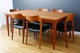 Midcentury Modern Finds - vintage moller dining table and chairs midcentury modern finds