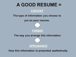Type Of Font For Resume Resume Workshop Ppt Video Online Download