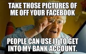 Meme Grandmother - meme grandmother computer mne vse pohuj