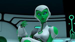 Dc Tas Wiki aya green lantern the animated series superheroes dc tv series