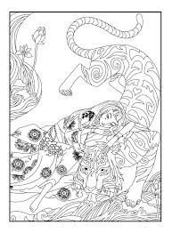 japan tiger celine japan coloring pages for adults justcolor