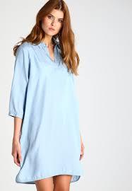 soaked in luxury soaked in luxury dalina summer dress light blue denim women soaked