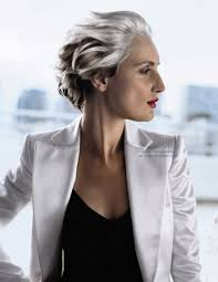trendy gray hair styles pictures on hairstyles for women with grey hair cute hairstyles