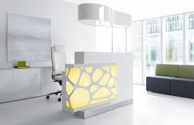 Marble Reception Desk Workspace U0026 Office Awesome Reception Desk Design With Marble