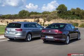 new volkswagen sedan 2015 volkswagen passat u0026 passat variant review gtspirit