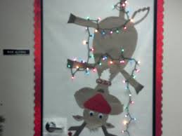 office 6 doors christmas door decorating ideas classroom for