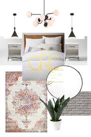 modern industrial boho or glam boho white bedroom makeover week