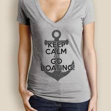 women u0027s boating t shirt watergirl keep calm deep v the water soul