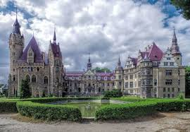historical castles the moszna castle is one of the most famous historical castles
