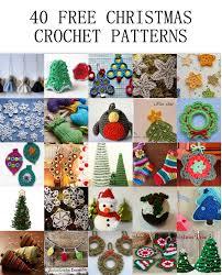 40 free christmas crochet patterns u2013 crochet arcade