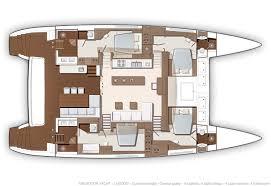 Luxury Yacht Floor Plans Lagoon 630 Yacht Charter Croatia Catamaran Sailboat