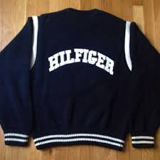 vintage hilfiger sweaters leather teddy stuffed from leather monsters