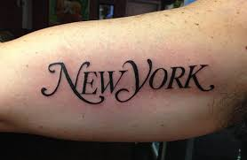 tattoo pictures of new york new york lettering portfolio tags jason barletta nyc tattoo artist