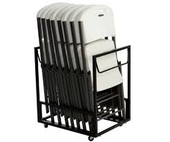 Folding Table With Chair Storage Marvelous Folding Chair Storage With Diy Stylish Storage With