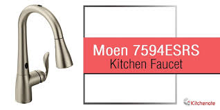moen 7594esrs arbor review our moen 7594esrs arbor single handle pull kitchen faucet review