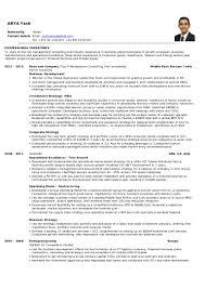 Venture Capital Resume Yash Arya Cv