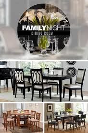 84 best entertainment images on pinterest wall units living family dinner becomes a delight with sleek and contemporary dining room tables in black and white