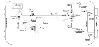 back up light wiring diagram auto info diagram