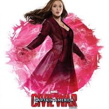check out scarlet witch promo art for captain america civil war