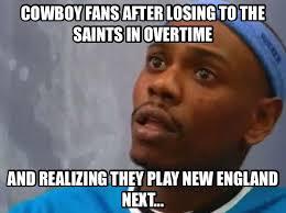 Cowboys Saints Meme - patriots already in the super bowl so should turtleboy go or stay