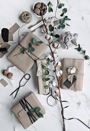 scandinavian christmas gift wrapping only deco love
