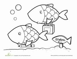 fish coloring pages u0026 printables education