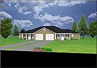 Duplex Plans With Garage Duplex House Plans 3 Bedrooms Plansource Inc