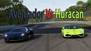 enzo vs lamborghini aventador forza motorsport 6 drag race lamborghini huracan vs lamborghini