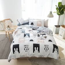 Black And White Bed Sheets Compare Prices On Bed Sheet Black Online Shopping Buy Low