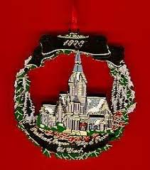 1998 portland ornament the church