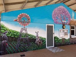 paul deej mural painted at settlers primary school in baldivis western australia done in mtn94